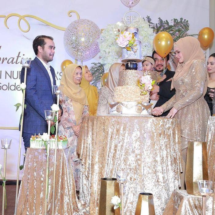 Kemeriahan pesta mewah ulang tahun Siti Nurhaliza