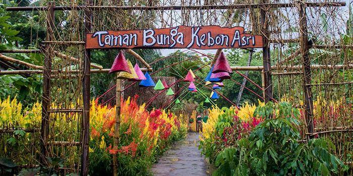 Taman Bunga di Klaten