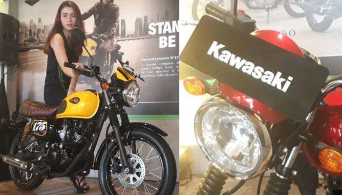 Kawasaki W175 Cafe, nambah beberapa aksesori