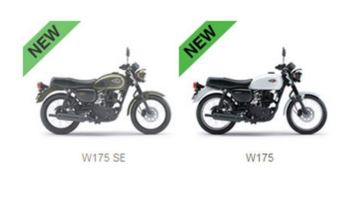 Kawasaki W175 sekarang punya 3 pilihan