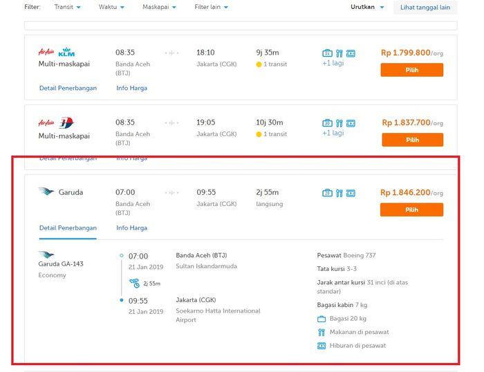 Benarkah Harga Tiket Pesawat Sudah Turun Ini Deretan