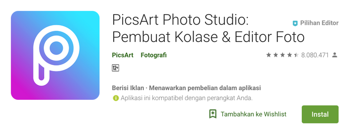 Aplikasi Pics Art