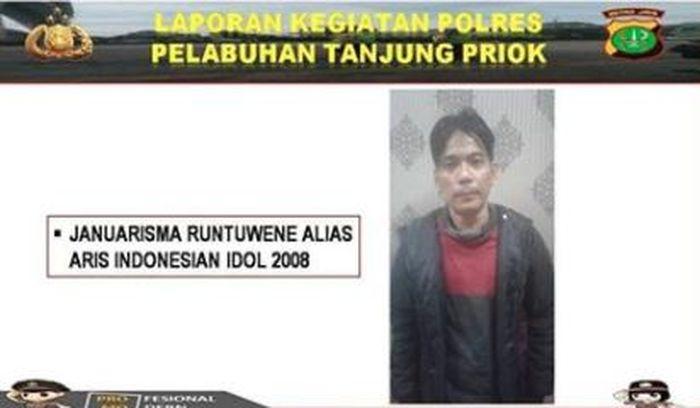 Aris Idol tertangkap Polisi terkait Narkoba