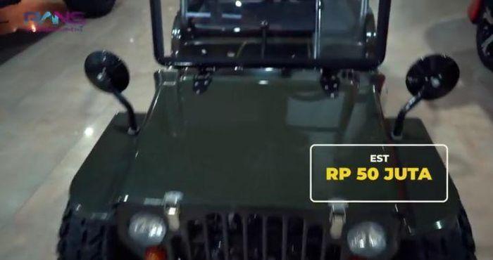 Jeep Mini jadi salah satu mobil mewah Sule