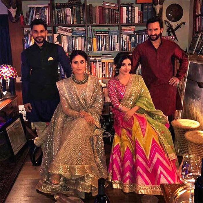 Interior rumah Kareena Kapoor dan Saif Ali Khan di Mumbai, India