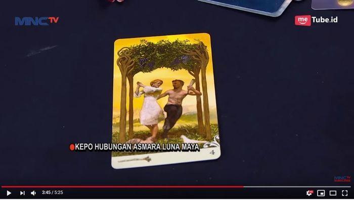 Kartu tarot pilihan Luna Maya
