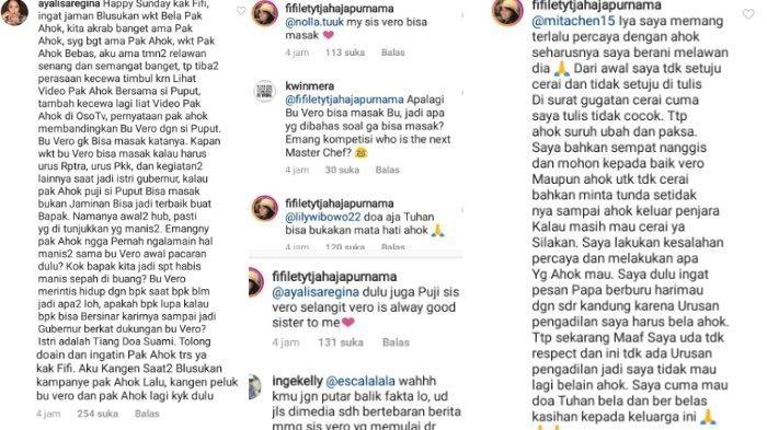 Fifi Lety membalas komentar netizen