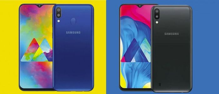 Samsung Galaxy M20 dan M10