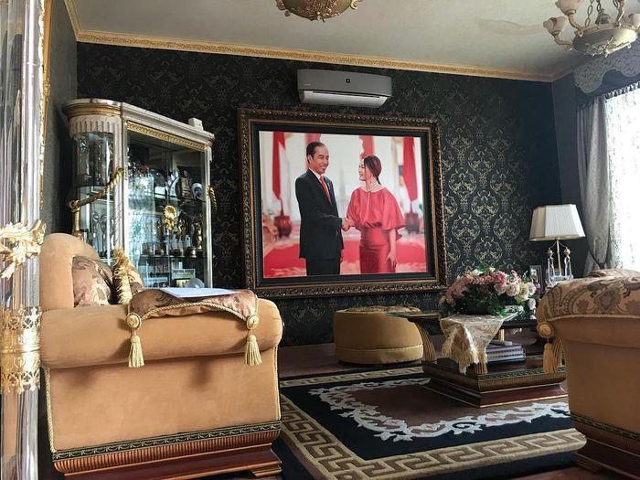 Potret rumah Inul Daratista di kawasan Jakarta Selatan