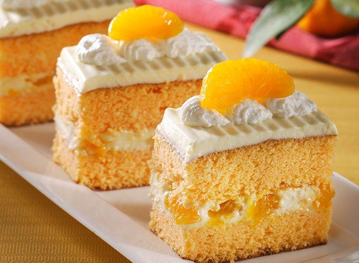 Cake Lapis Jeruk Mandarin