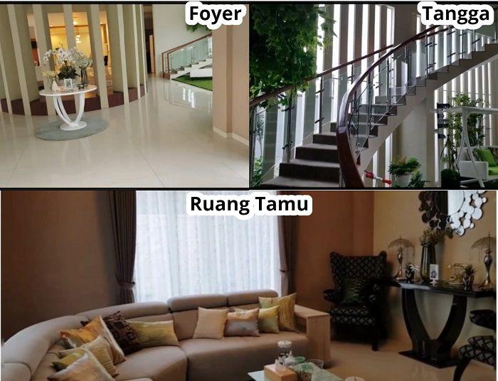 Ruangan di rumah Bu Dendy