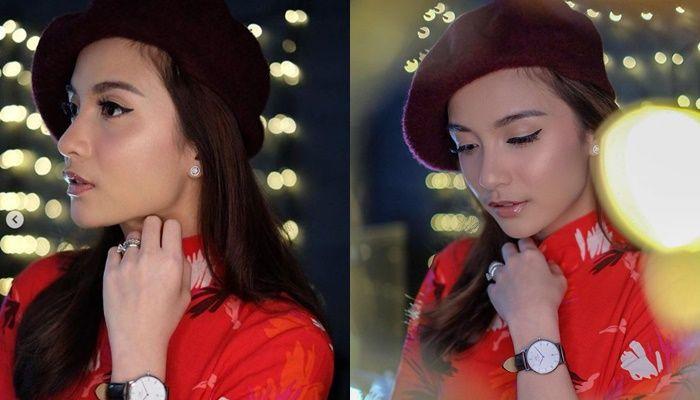 Intip Gaya Makeup untuk Imlek Ala Artis - Chelsea Olivia
