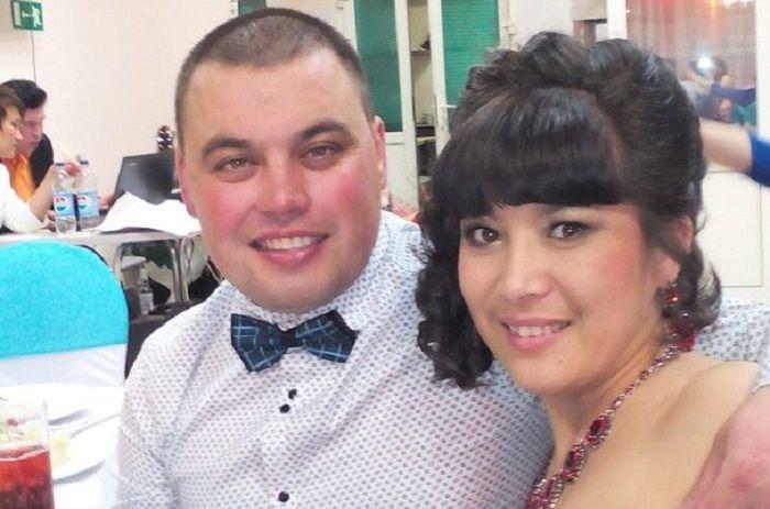Gulsia dan suaminya yang juga ditembak oleh Artur