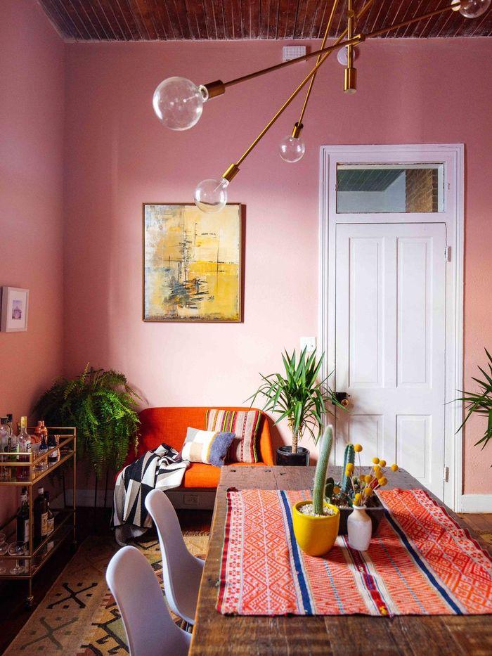 inspirasi cat dinding yang bikin relaks