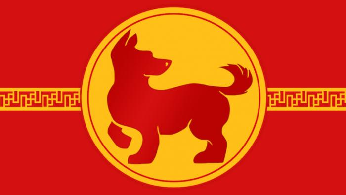 ilustrasi shio anjing