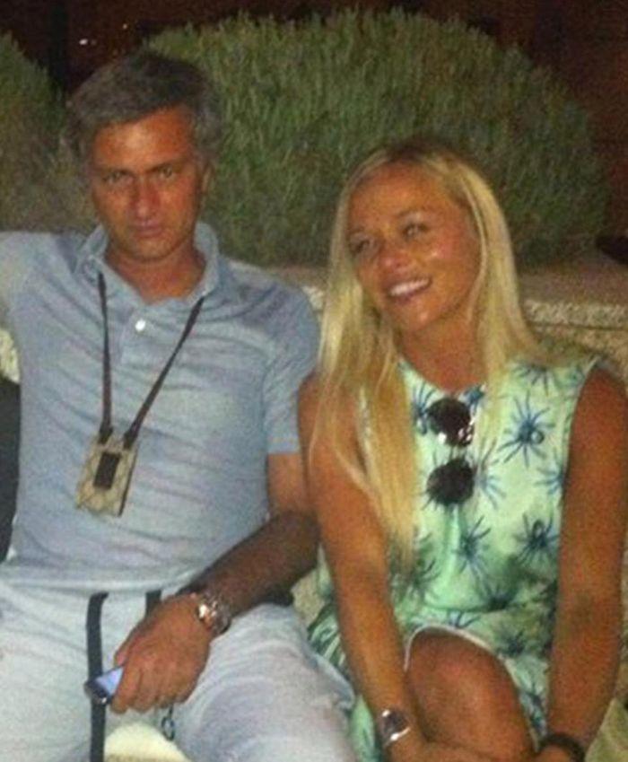 Jose Mourinho dituding berselingkuh dengan Prue Carter-Robinson.