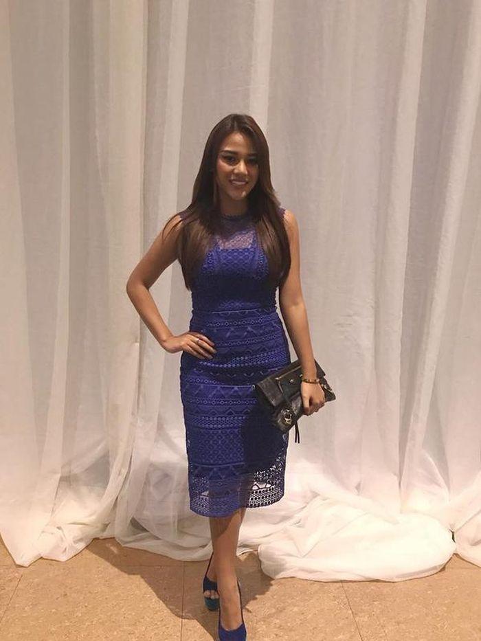 Dress Aurel Hermansyah