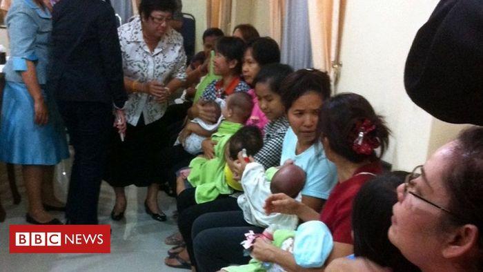 Salah satu ibu pengganti yang melahirkan anak Shigeta