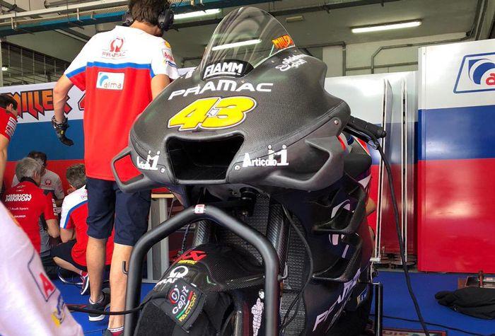 Tak hanya Dovi, Jack Miller juga meriset aerofairing baru untuk motor Desmosedici GP musim ini