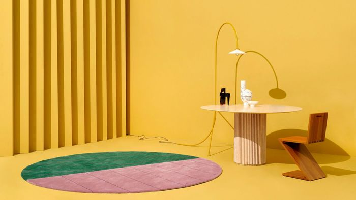 Bentuk dan <a href='https://bangka.tribunnews.com/tag/warna' title='warna'>warna</a> karpet dapat mendukung konsep desain ruang.