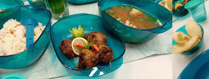 Aneka jenis masakan dapat dimasak dalam waktu cepat dan praktis.
