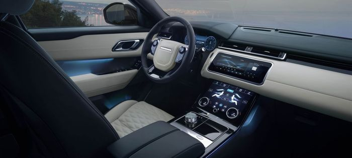 Desain interior Range Rover Velar SVAutobiography Dynamic Edition tidak berubah.