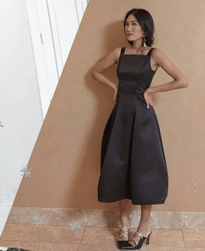 Dress kondangan ala Alika Islamadina
