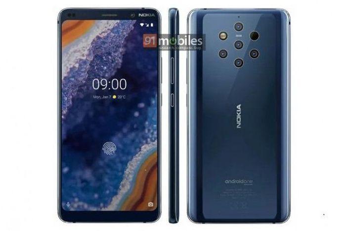Design Nokia 9 Pureview