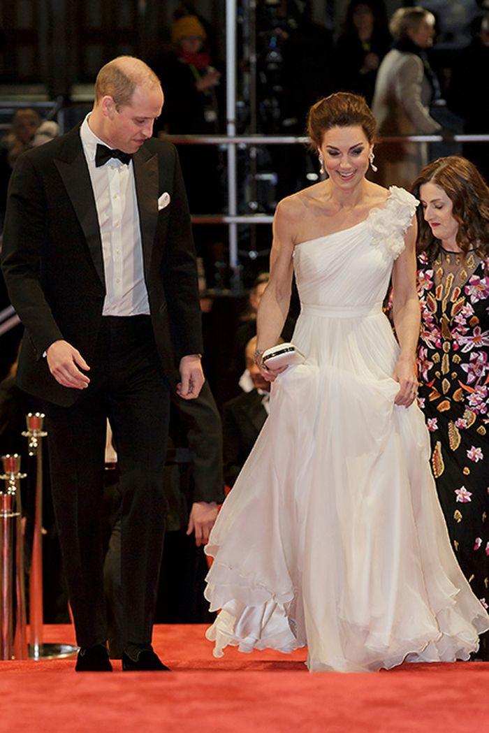 Pangeran William dan Kate Middleton hadir dalam acara BAFTA