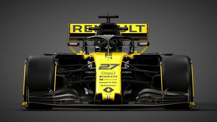 Renault menjadi tim pabrikan pertama yang memperlihatkan mobil penantang Formula 1 2019