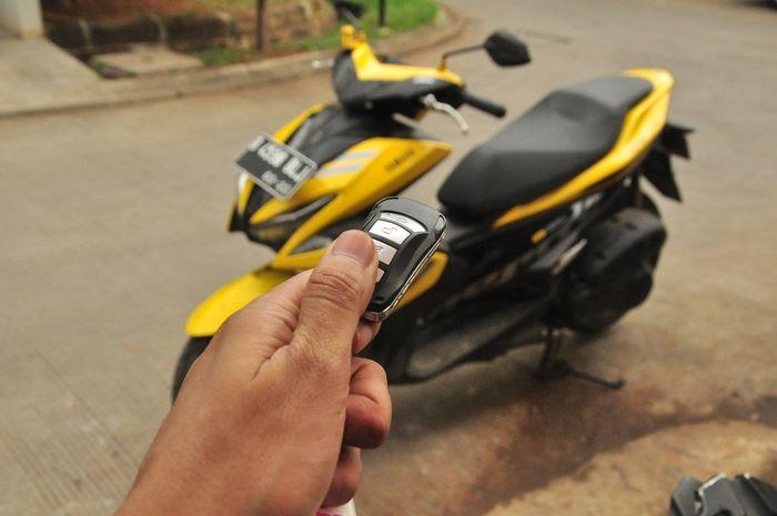 Smart Key untuk Yamaha Aerox Tanpa Keyless