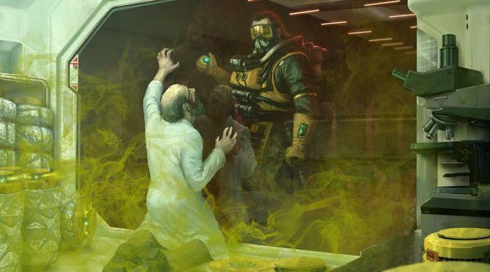 Ilustrasi menghancurkan pintu di Apex Legends