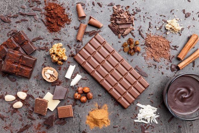 Beragam jenis cokelat.