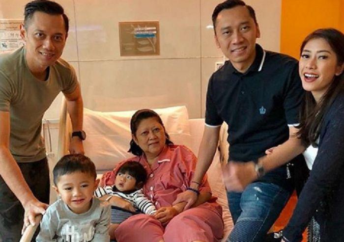 Ani Yudhoyono Dirawat di Singapura, Sang Cucu Berikan Ucapan Haru dan Menyentuh Ini!