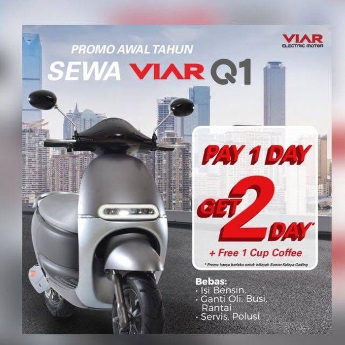 Promo awal tahun motor listrik Viar Q1