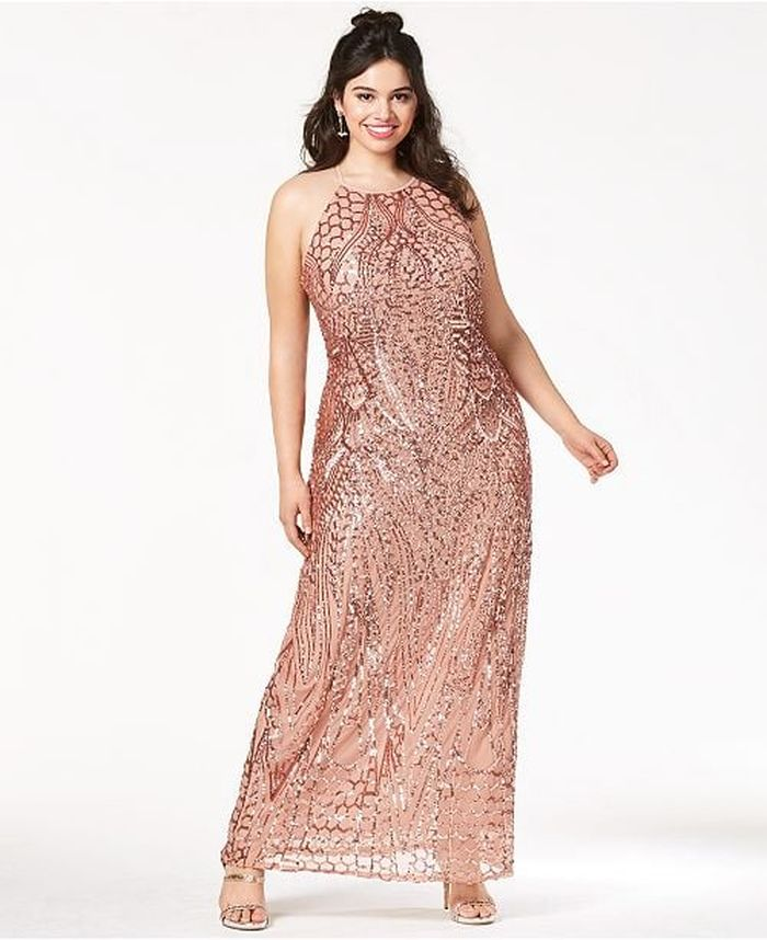 5 Model Dress Bridesmaid Yang Cocok Untuk Tubuh Gemuk Agar Tampil