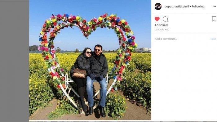 Dimabuk Asmara, Potret Mesra Valentine Day BTP dan Puput Nastiti Devi Bak ABG Pacaran!
