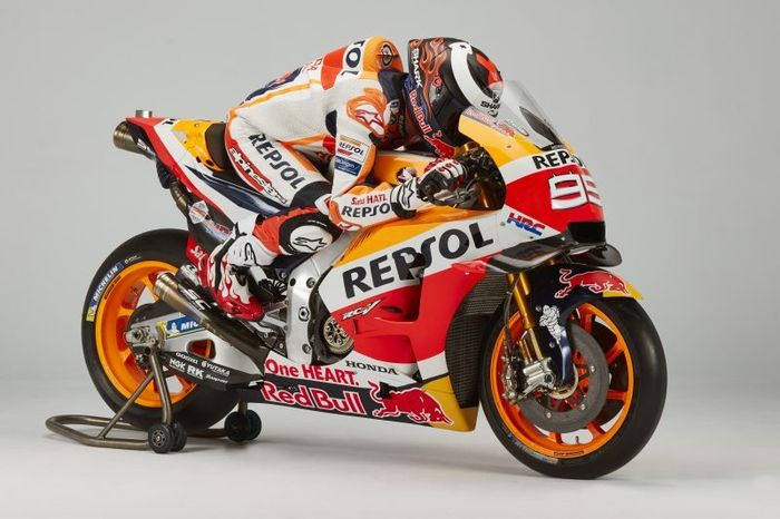 Pembalap tim Repsol Honda, Jorge Lorenzo.