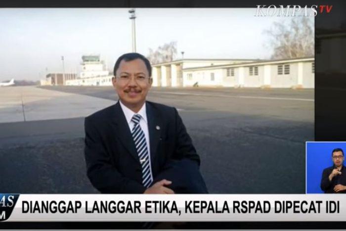 Kepala RSPAD Gatot Subroto Mayjen TNI dokter Terawan Agus Putranto.