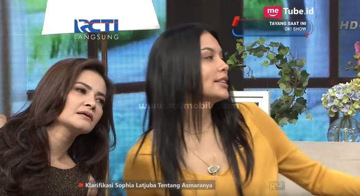 Sama-sama Mantan Ariel NOAH, Begini Reaksi Sophia Latjuba dan Cut Tari saat Bertemu dalam Satu Acara