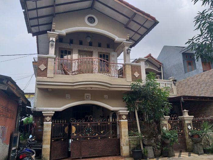 Rumah Puput Nastiti Devi di Depok, Jawa Barat, Jumat (15/2/2019)