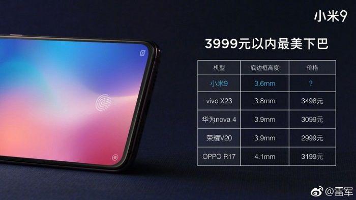 Bocoran Harga Hape Flagship Xiaomi Mi 9, Dibanderol 7 Jutaan