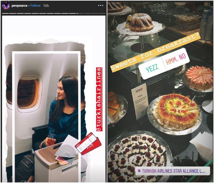 Pevita Pearce sedang liburan ke Turki