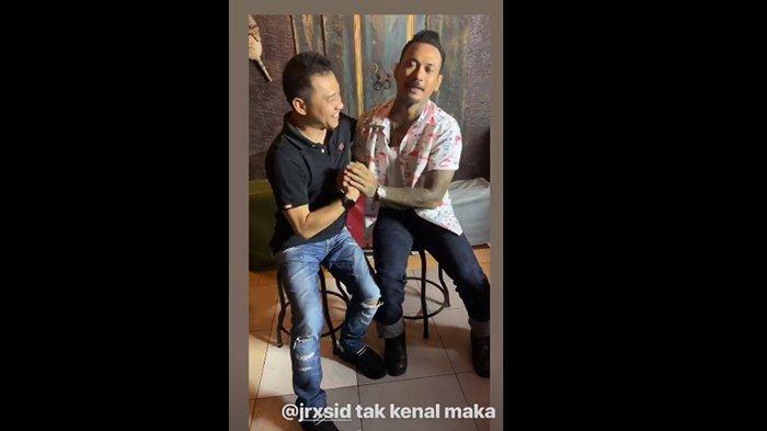Anang Hermansyah dan Jerinx SID sempat berpelukan