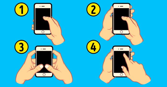 Tes Kepribadian : Bentuk Tangan Saat Memegang Ponsel Bisa Ungkap Sifatmu yang Sesungguhnya