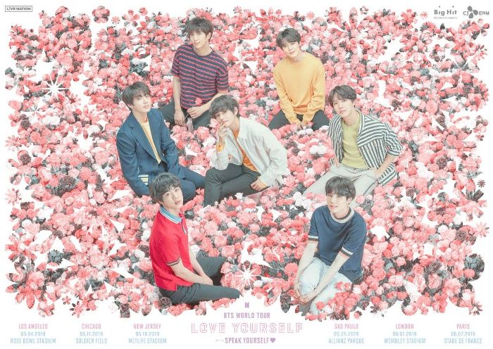 Konser BTS Love Yourself: Speak Yourself.