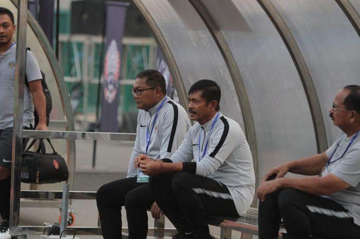 Pelatih timnas U-22 Indonesia, Indra Sjafri.