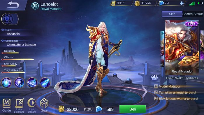 Unduh 6000 Wallpaper Bergerak Lancelot HD Terbaru