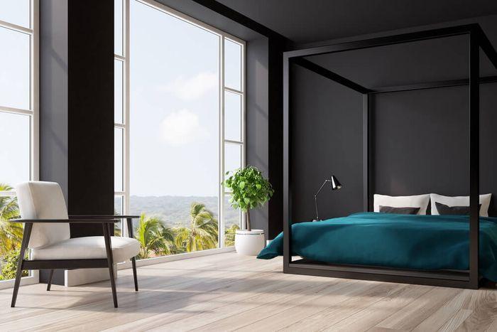 Gunakan elemen berwarna pada ruangan