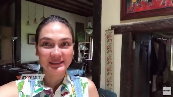 Rumah ibu Luna Maya di Bali yang menyimpan banyak furnitur tempo dulu